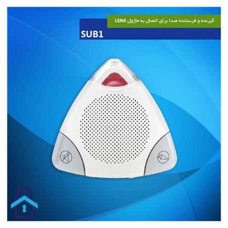 گیرنده و فرستنده صدا برای اتصال به ماژول LSN4 مدل SUB1 دزدگیر پارادوکس